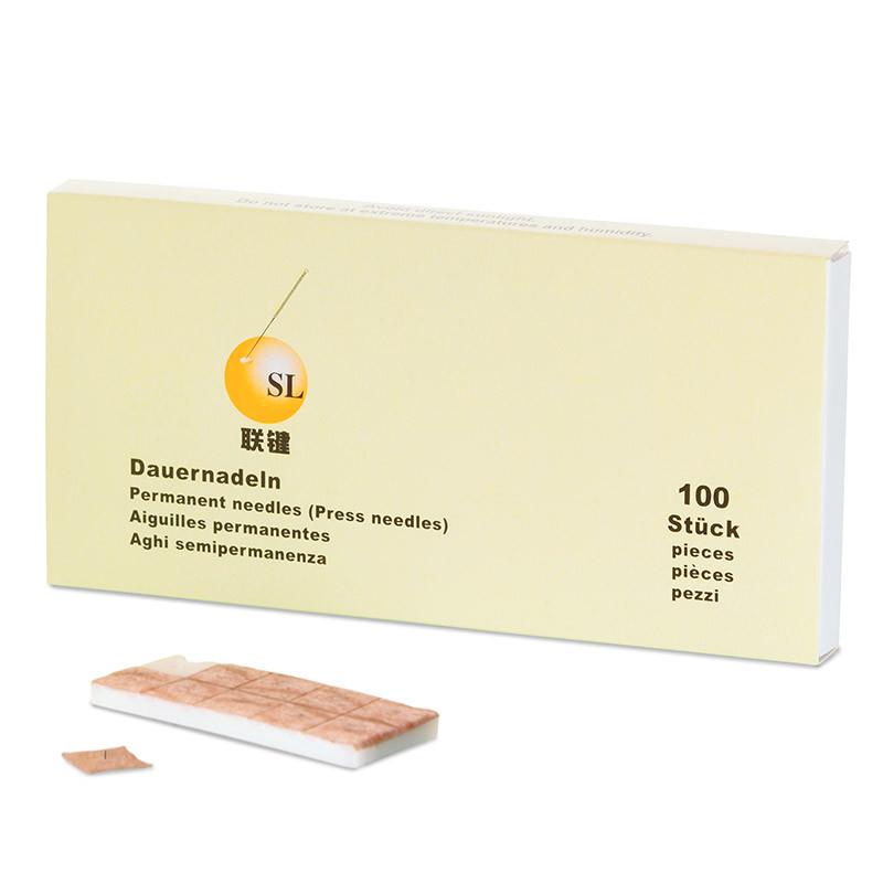 Akupunktur-Dauernadeln, auf atmungsaktivem Pflaster, 0,22 x 1,5 mm