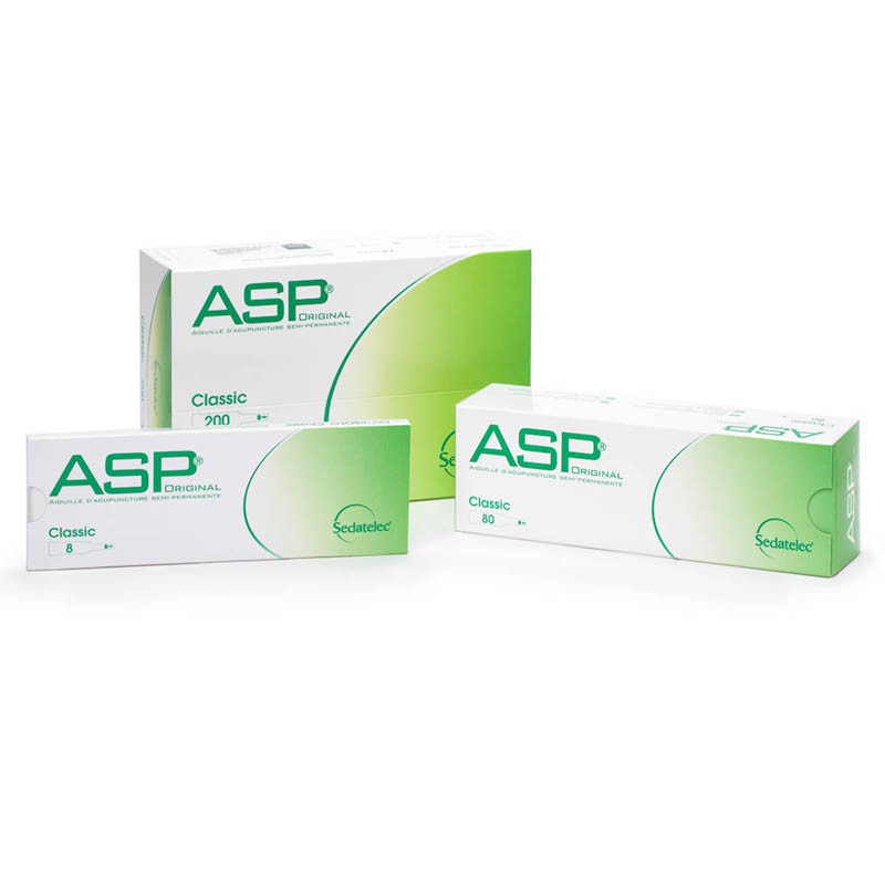 ASP Ohrakupunkturnadeln aus Stahl