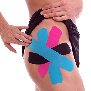 Kinesiologisches Tapen bei Hüftschmerzen